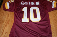Robert Griffin III Autographed Washington Redskins Jersey PSA/DNA