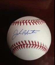 SOLD 2646 Joe Blanton Autographed ROMLB Baseball