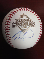 Ryan Howard Autographed Rawlings Official 2008 World Series Baseball