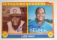 Lee May Autographed 1983 Topps #378