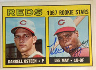 Lee May Autographed 1967 Topps #222