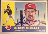 Adam Duvall Autographed 2017 Topps Archives #89