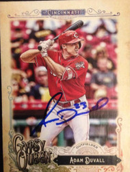 Adam Duvall Autographed 2017 Topps Gypsy Queen #233