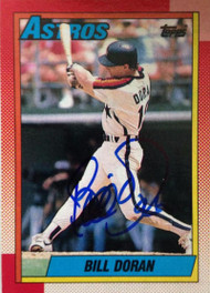 Bill Doran Autographed 1990 Topps #368