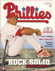 Bobby Abreu 1999 Philadelphia Phillies Magazine Program