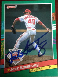Jack Armstrong Autographed 1991 Donruss #439
