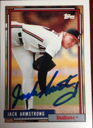 Jack Armstrong Autographed 1992 Topps Traded #6T