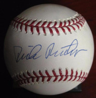 Dick Ruthven Autographed ROMLB Baseball