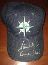 Jamie Moyer Autographed Game Used Seattle Mariners Cap Direct from Him