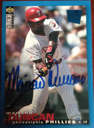 Mariano Duncan Autographed 1995 Collectors Choice #169