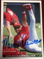 Mariano Duncan Autographed 1995 Collectors Choice #361