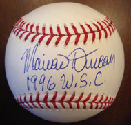 Mariano Duncan Autographed ROMLB 1996 WSC
