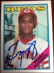 Terry McGriff Autographed 1988 Topps #644