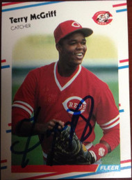 Terry McGriff Autographed 1988 Fleer #240