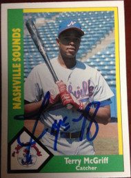 Terry McGriff Autographed 1990 CMC #129