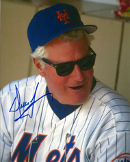 Dallas Green Autographed Mets 8 x 10  Photo