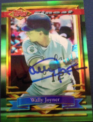 Wally Joyner Autographed 1994 Topps Finest #176