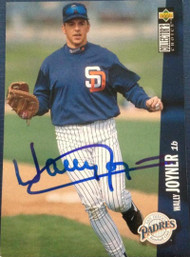 Wally Joyner Autographed 1996 Collectors Choice #700