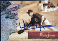 Wally Joyner Autographed 1996 Pinnacle Aficionado #4