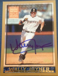 Wally Joyner Autographed 1998 Topps Minted in Cooperstown #131