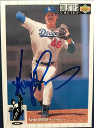 Kevin Gross Autographed 1994 Collectors Choice #394