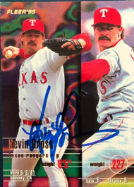 Kevin Gross Autographed 1995 Fleer Update #U-62