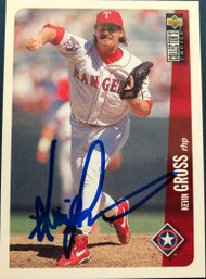 Kevin Gross Autographed 1996 Collectors Choice #733