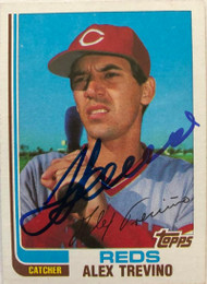 Alex Trevino Autographed 1982 Topps #21