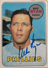 Mike Ryan Autographed 1969 Topps #28