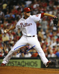Ryan Madson Autographed Phillies 8 x 10 Photo 8