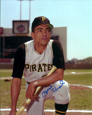 Ozzie Virgil Sr. Autographed Pirates 8 x 10 Photo