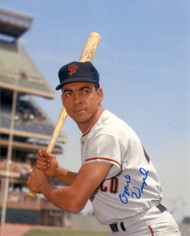Ozzie Virgil Sr. Autographed Giants 8 x 10 Photo
