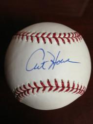 Art Howe Autographed ROMLB Baseball