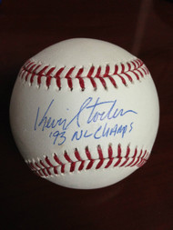 Kevin Stocker Autographed ROMLB '93 NL Champs