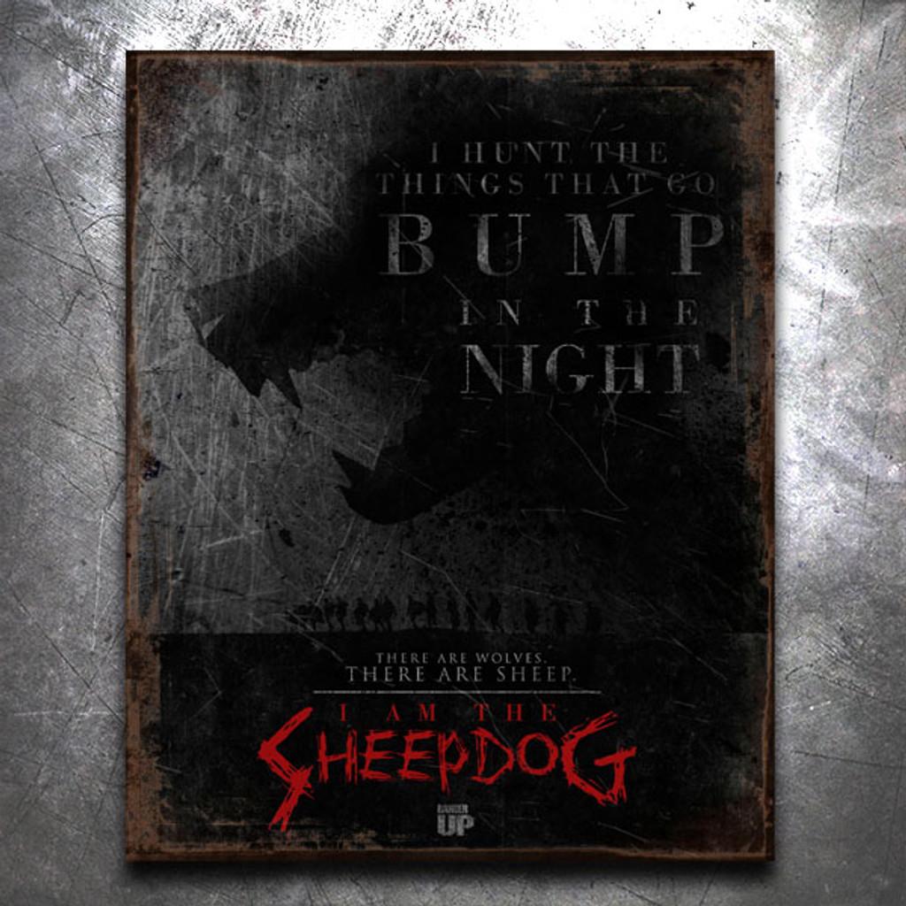 I am the Sheepdog Vintage Tin Sign 1