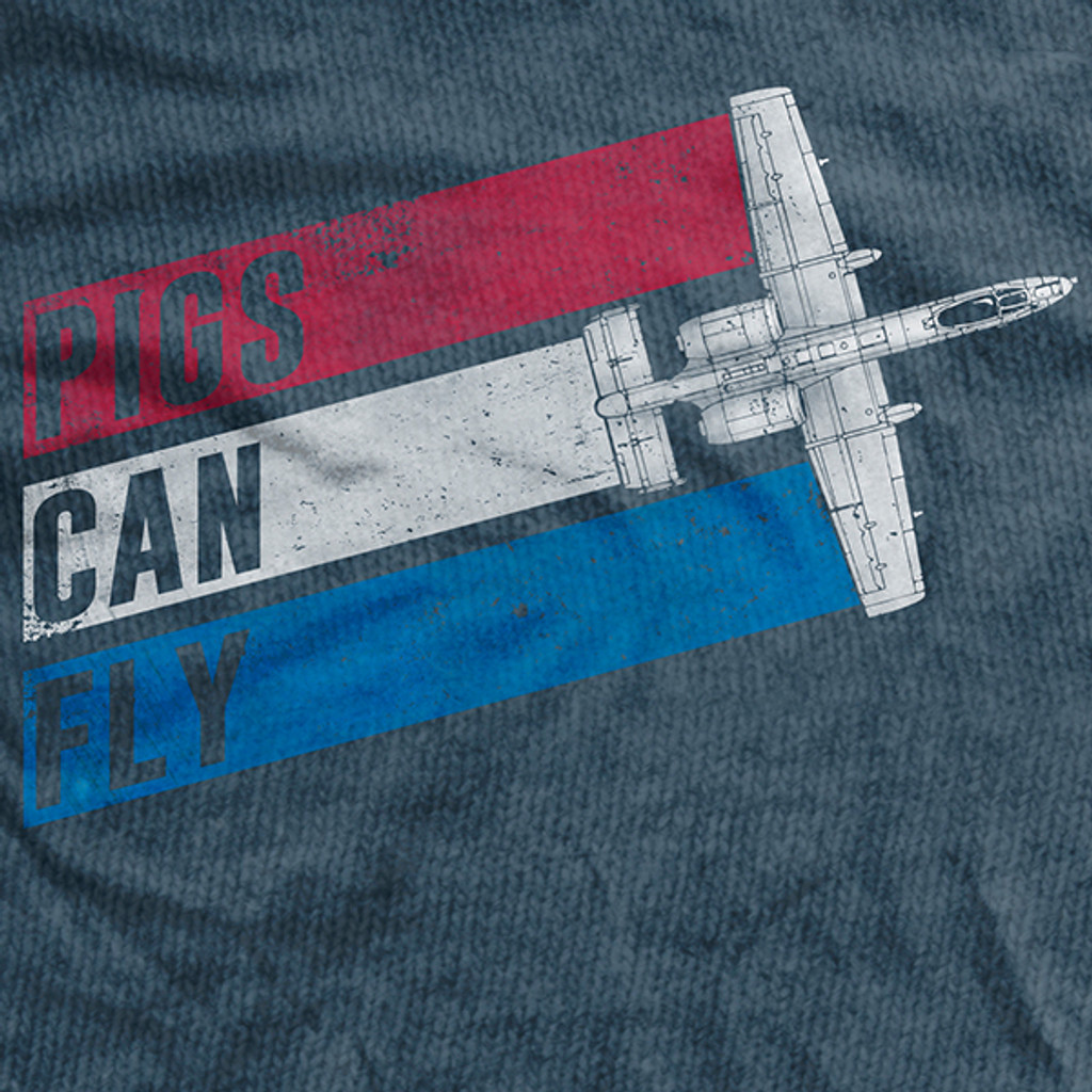 Pigs Can Fly Ultra-Thin Vintage T-Shirt