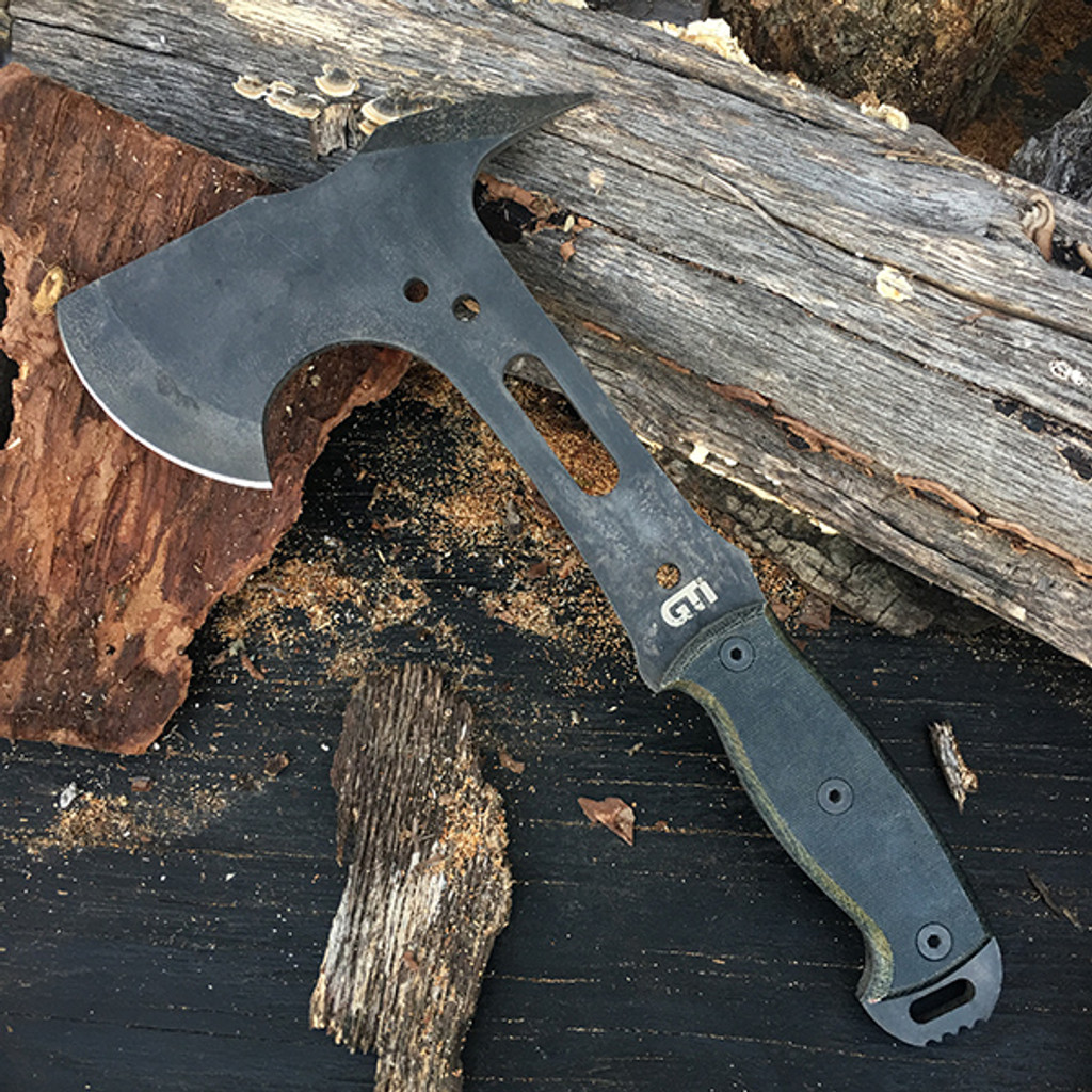 LIMITED EDITION Custom Tomahawk by Justin Gingrich