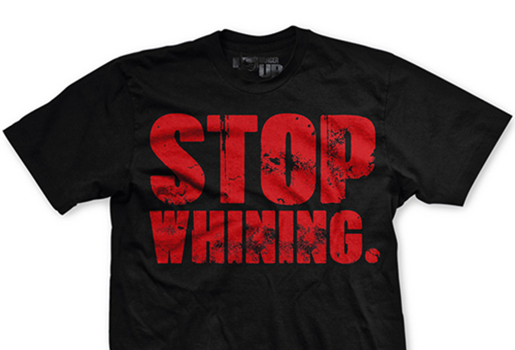 PREORDER Stop Whining Normal-Fit T-Shirt