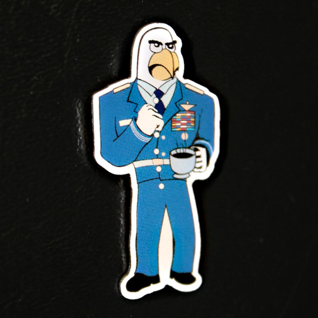 The Damn Few Ice Goose Pin
