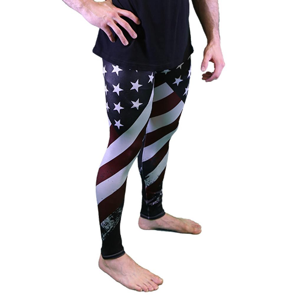 PREORDER MEN'S USA Leggings - Meggings