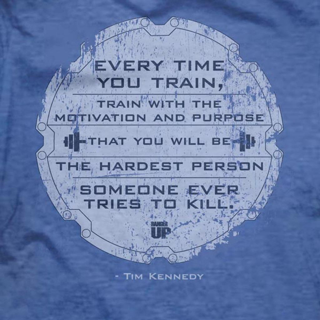 Tim Kennedy Hard to Kill Ultra-Thin Vintage T-Shirt