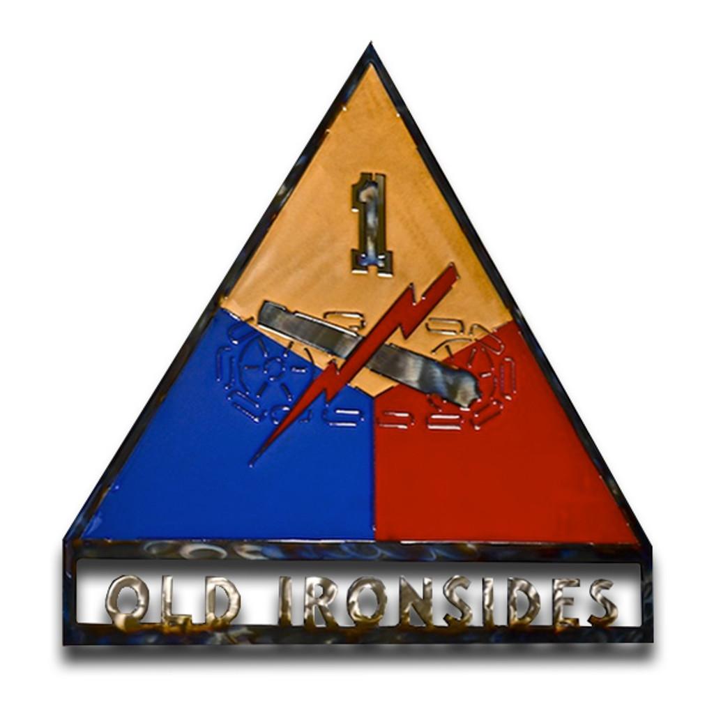 American Liquid Metal - 1st Armor Division Sign