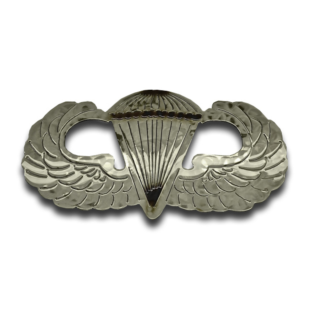 American Liquid Metal - Basic Parachutist Wings Sign