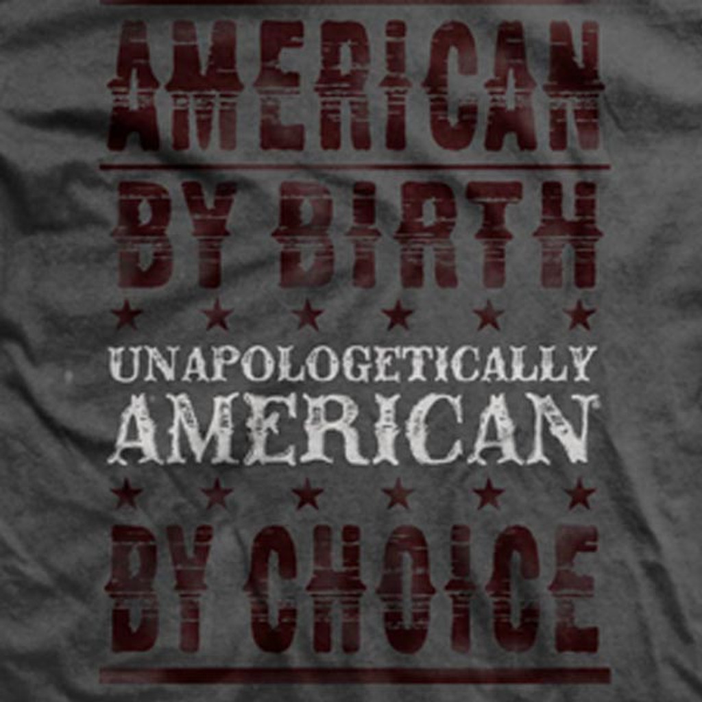 PREORDER Unapologetically American by Choice Ultra-Thin Vintage T-Shirt