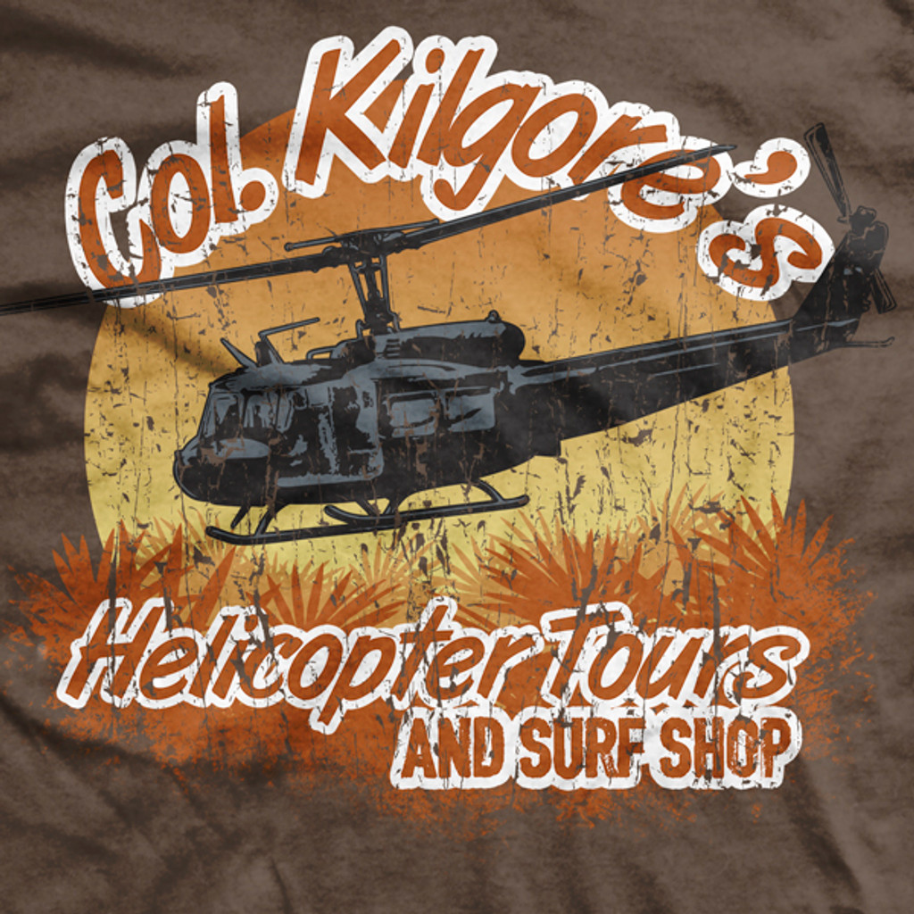 PREORDER COL Kilgore's Helicopter Tours Ultra-Thin Vintage T-Shirt