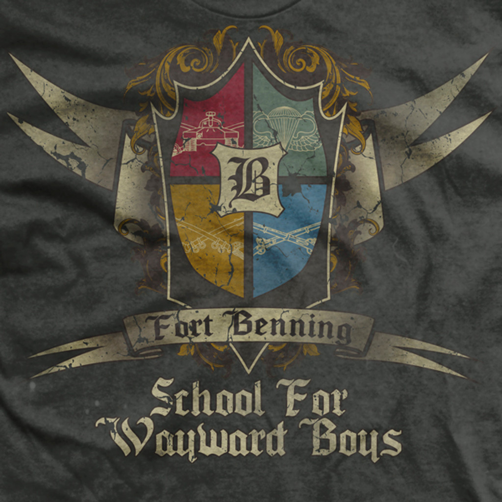 Fort Benning School for Wayward Boys Normal-Fit T-Shirt