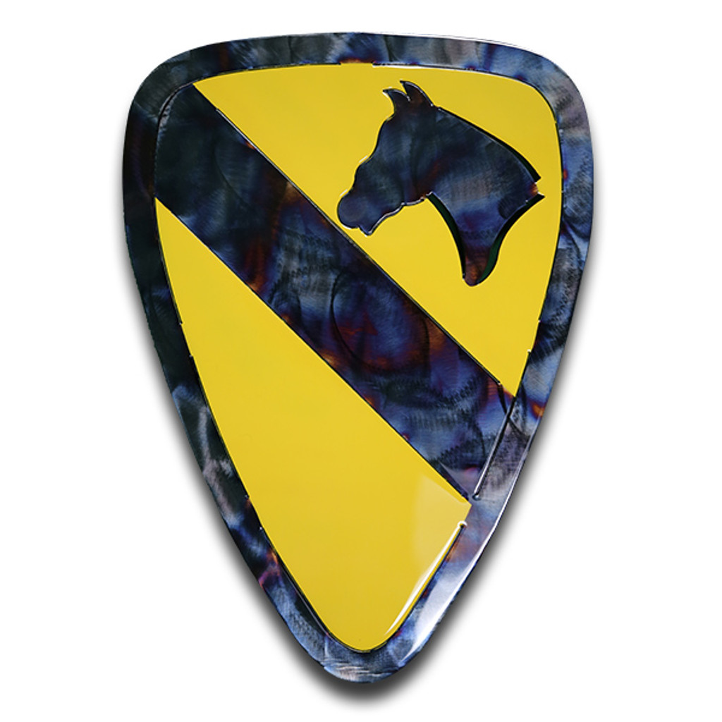 American Liquid Metal - Limited Edition 1st Cavalry Division Sign