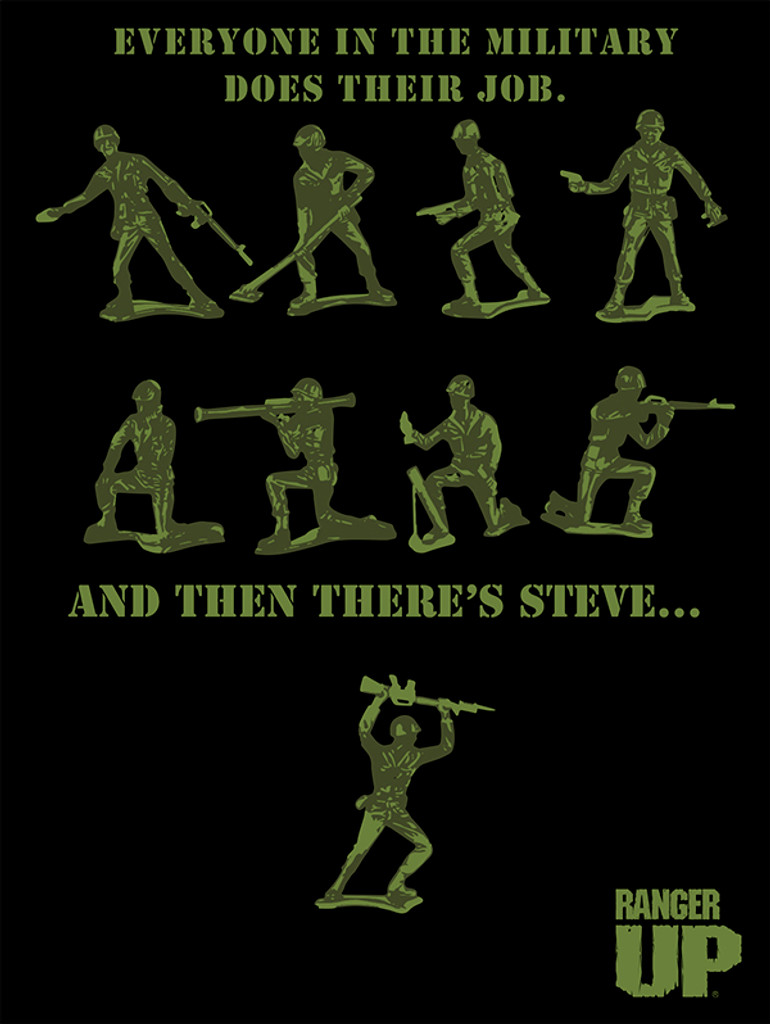 Green Army Men Poster