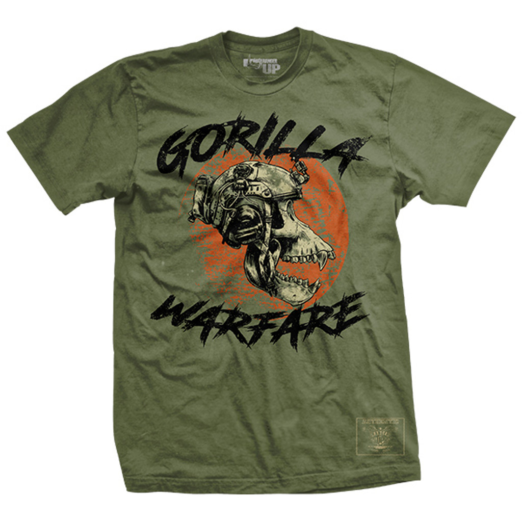 PREORDER Gorilla Warfare Ultra-Thin Vintage T-Shirt