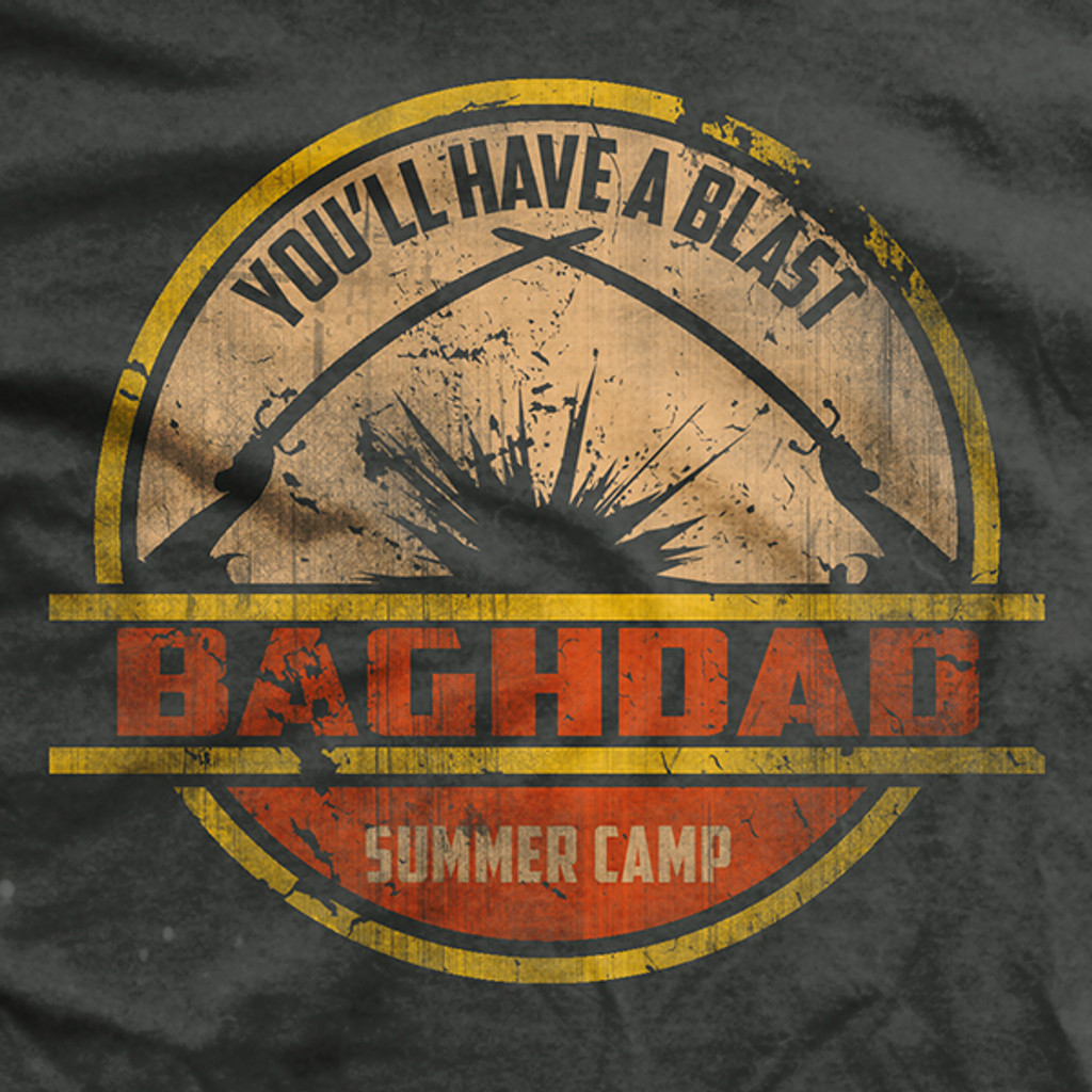 Baghdad Summer Camp Ultra-Thin Vintage T-Shirt